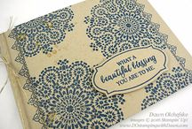Stampin up Maroccan Nights