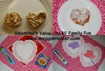 $5 Family Fun - Valentine's Value  / Have fun making heart-shaped cinnamon rolls and secret message Valentine's...all for just $5.   www.megganspicer.com