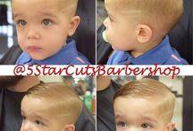Baby Tío first cut hair