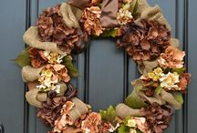 I Love Fall! / Fall crafting and decorating ideas