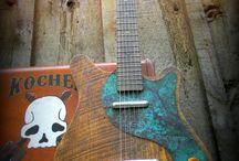 Guitars et amplis
