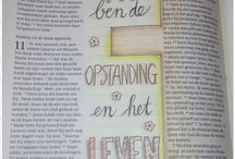 Bible journaling joh 11:25