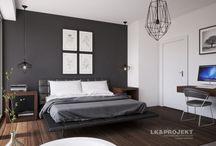 Sypialnie / Kolekcja projektów sypialni autorstwa pracowni architektonicznej LK&Projekt