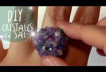 como hacer cristales de sal!!!