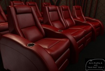 The A Series / Pictures of our A series models / by Elite Home Theater Seating
