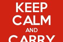 Keep Calm / It's awesome please follow me please I would really appreciate it !!!