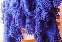 crochet - écharpes, châles et snood