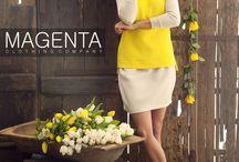 Magenta 2014 spring campaign / Magenta S2014 Campaign  #magenta #magentafashion #fashion #spring #2014 #adv #springcampaign #women #womenfashion #chic #clothes #womenclothes