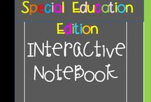 Interactive Notebooks & Special Ed. / Interactive Notebooks & Special Education.