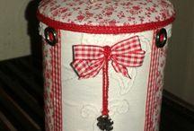 boîtes en tissu
