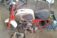 Honda cz100 Monkey 1963 / Αn amazing Honda cz100 Monkey 1963 restoration by Hatzirodelis Petros