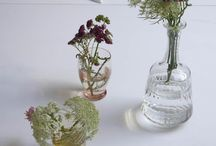 glass bottles / Many ideas to make beautiful things in bottle or glass . So lovely ^^