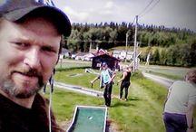 Prøv mini-golf med venner,eller for å bli kjent...