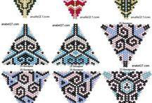 Šité korálové šperky