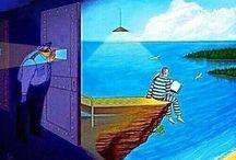 Donde hay libros, no hay muros / Leer, leer, leer...