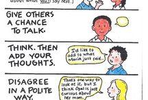conversation / by Akane .