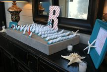 Name Cards & Seating Charts / Another component of your event that is easy to make more interesting!