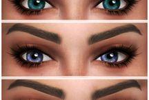 sims ojos