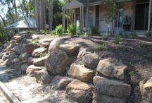 Natural landscaping for backyard