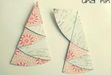 Tannenbäume falten
