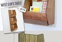 Polcok, szekrények
