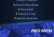 Quality Entertainment Wedding Info-graphic / Discover fun and unique ideas for your wedding celebration at Quality Entertainment. From theme nights to video-dance-party, we have all the ideas you'll need to make your celebration memorable.