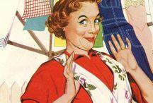 prints - vintage women