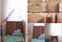 children / Kinder / ideas for games + furniture especially for children