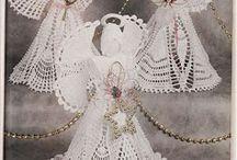 háčkované andělíčky