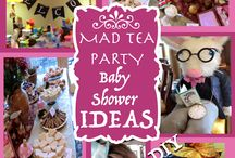 Alice in Wonderland Tea Party / Mad Hatter tea party ideas
