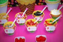 Ice cream social birthday parties