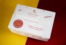 """DOGGY BAG ÉCOLOGIQUE / """"Trop Bon Pour Gaspiller"""", le seul doggy bag écologique en France qui prend en compte les problématiques du gaspillage alimentaire et des déchets. ZERO PLASTIQUE !"""