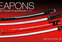 Weapons for the Martial Arts / www.awma.com / by Asian World Of Martial Arts