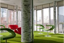 Indoor use of artificial grass