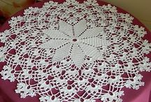 Crochete tablecloth
