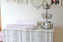 Babygirl's Nursery Ideas / Chabby Chic, Vintage, Feminine, or Elegant inspiration for babygirl's nursery.