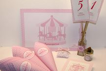 Personalized Constructions / #artindustry #artindustrygr #personalized #invitations #pink #carousel #syros