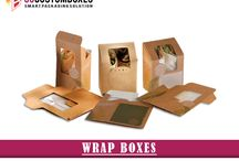 Wrap Boxes / Wrap boxes can be customized in different packaging styles. GCB is famous platform where custom printing solution for wrap boxes.