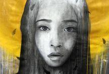 Desenhos e pinturas