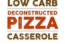 Keto / Low Carb Pizza Recipes