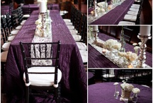 Aubergine & Cream Wedding Theme / Aubergine & Cream wedding Theme Board http://www.bettertogetherweddings.co.uk #weddings #cheshire #manchester