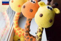 Giraffes haken