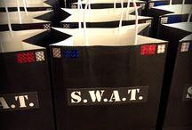 Swat team party
