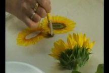 pintando flores