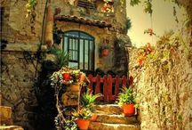 Wiejskie chaty