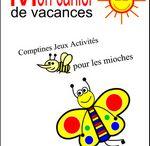 Cahiers de vacances en maternelle / Des dessins pour faire un cahier de vacances avec les enfants. Pour petits enfants de maternelle. Ps ms gs. CP également.