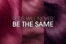 Obsessions / Automne-Hiver 2016-2017 Je suis obsédée par toutes les colorations rouges. / Fall-Winter 2016-2017 I'm obsessed about all the red color hairstyles.