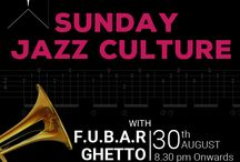 Sunday Jazz Culture@Fubar Ghetto / Fubar Ghetto is a Delhi-based band that blends elements of a wide variety of genres including classic rock, jazz and blues. Fubar Ghetto believes in improvisation and exploring the boundaries of musical structure. The band comprises musicians with up to 20 years of experience in playing, recording and teaching music.