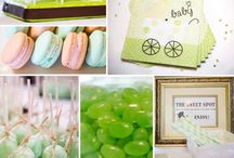 Baby showers / Ideas, décor, games , eats and themes for baby showers