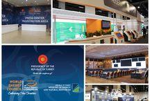 World Energy Congress / Sedef Grup'un alan kurulumunu ve özel dekor çalışmalarını gerçekleştirdiği İSTANBUL AİRSHOW 2016 6-9 Ekim tarihleri arasında ziyaretçilerini ağırladı.